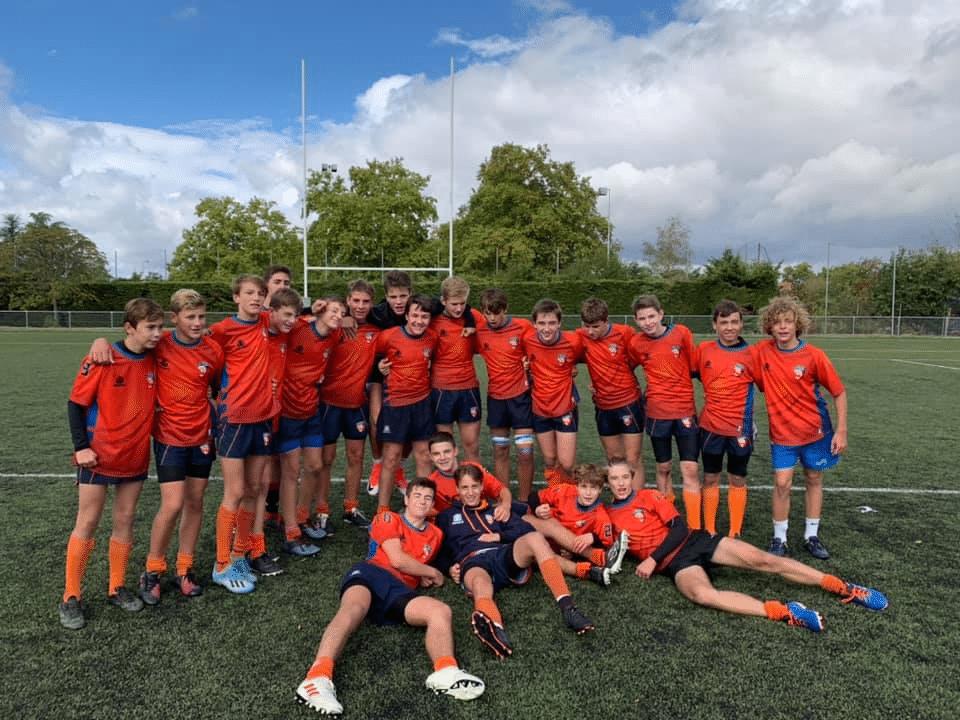 Victoire des cadets au stade Métropolitain (Entente Rillieux – ASVEL) 0-52