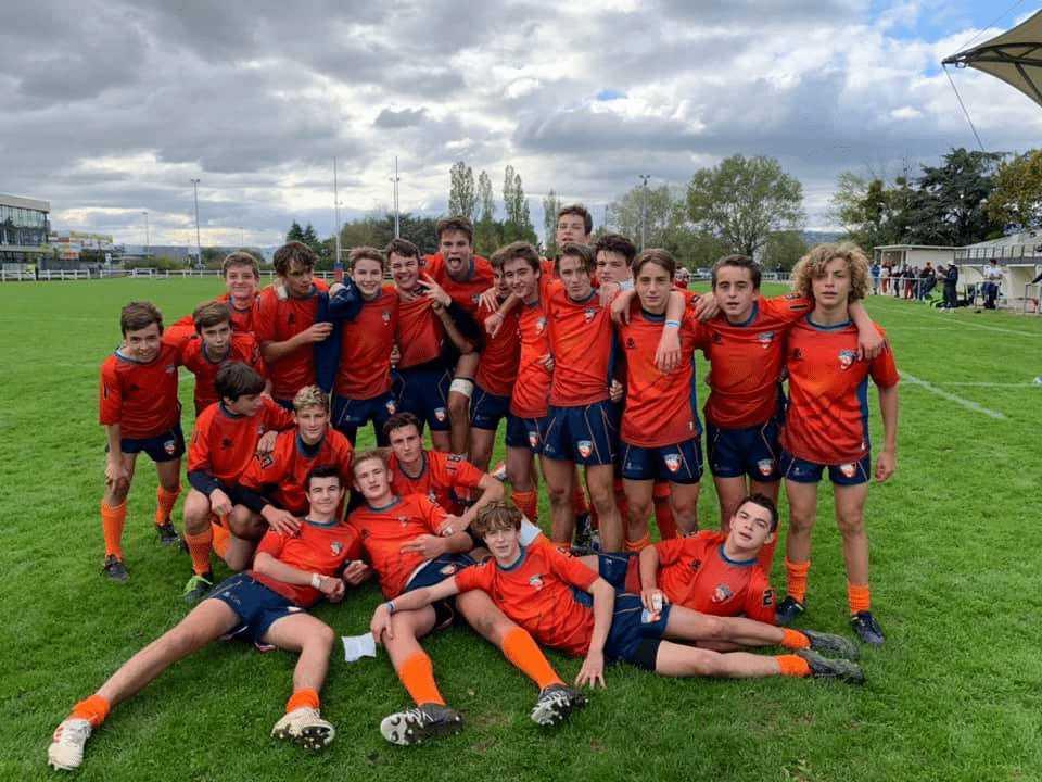 10 octobre 2020 : Victoire bonifiée de nos juniors à Saint-Priest!