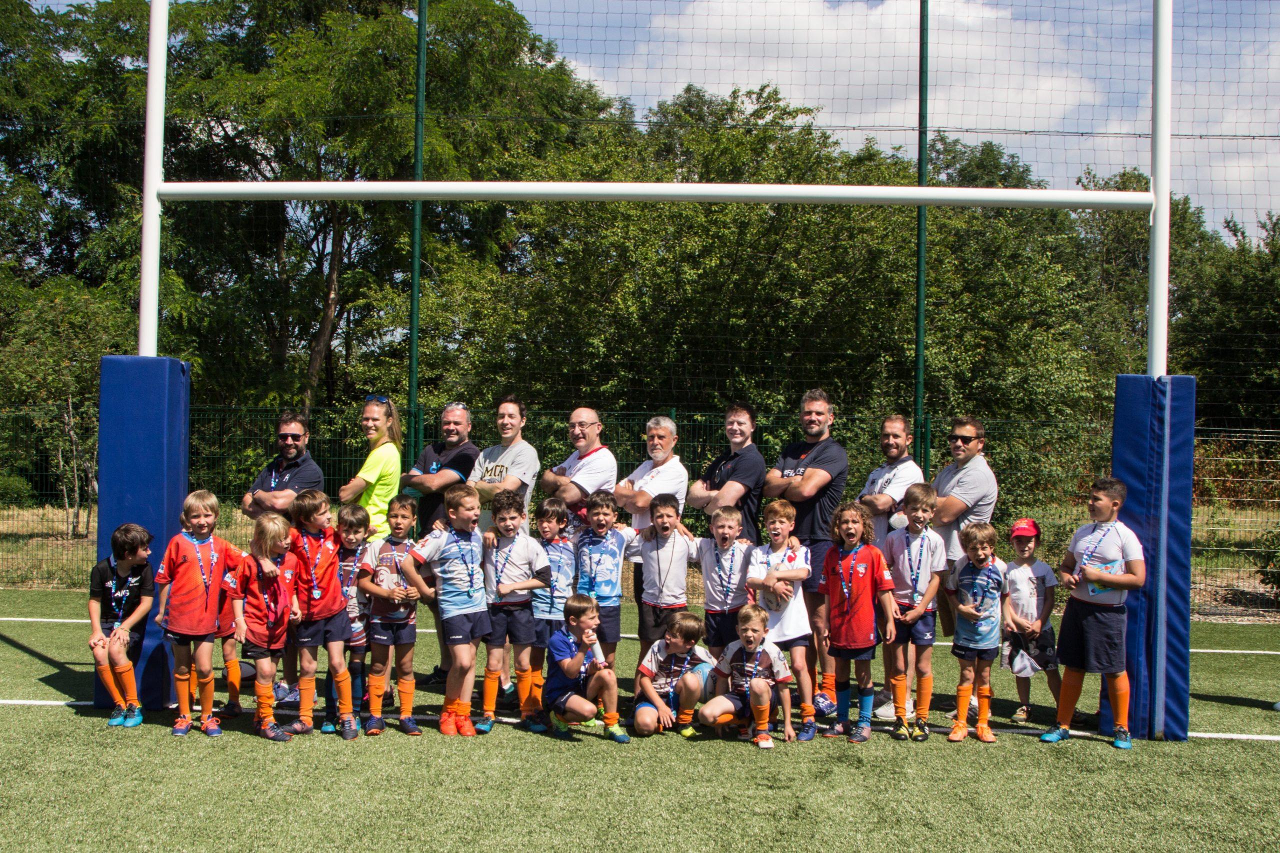 Un samedi réussi pour notre École de Rugby !